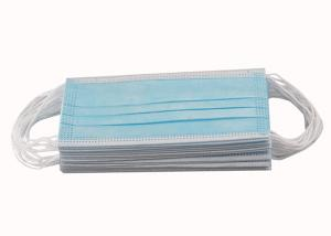 Best CE FDA 3ply Non Woven Triple Layer Earloop Face Mask wholesale