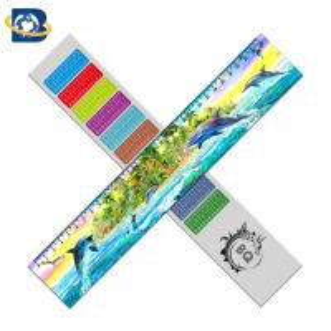 Best 3d Or Flip Change Custom Printed Plastic Rulers For Kid Stationery wholesale