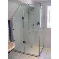 Best ANSIZ97.1 Straight Corner Shower Enclosure Glass Tempered Safety wholesale