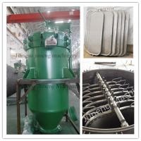 Best Automatic Discharge Pressure Vertical Leaf Filter Press Equipment  High Efficiency wholesale