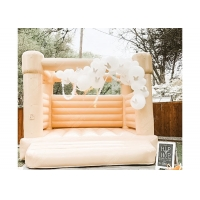 Best Outdoor Wedding Party Girls Hot Pink Bouncy Castle Inflatable Jumping Castle wholesale