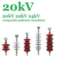 Quality Flexible Silicone Composite Polymer Insulator 20 KV For EHV Transmission Lines wholesale