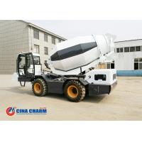China 3.5m3 Capacity Self Loading Cement Mixer , Diesel Self Loading Concrete Mixer Machine on sale