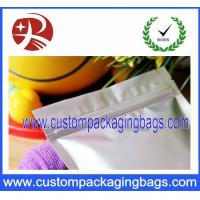 China Ziplock Proof Stand Up Pouches / Insulated Resealable Aluminium Foil Bags on sale