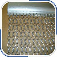 Best Customized 2.0 mm thickness aluminum double hooks chain fly screen door curtain wholesale