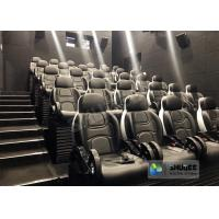 Best Unique 5D Cinema Simulator With Leather Seats And Low Noise Cylinder wholesale