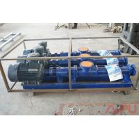 Cheap High quality S.S screw pump for solids control centrifuge feeding for sale