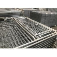 Best Temp Fence Panels Construction Residential with Pedestrian Gates wholesale
