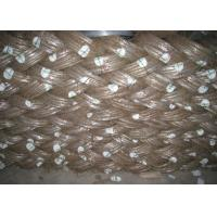 Best Low Carbon Galvanized Baling Wire , Electro Hot Dipped 3mm Galvanized Steel Wire wholesale