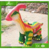 Best 2018 new style Coin-operated dinosaur toy cars for kiddie ride wholesale