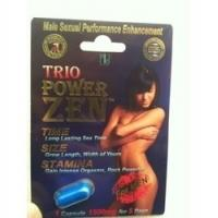 Buy cheap Trio Power Zen Sex Capsules Natural Male Enhancement Pills / Sex Capsule For Long Time from wholesalers
