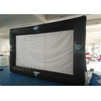 Best Portable Inflatable Projector Movie Screen Logo Printing EN14960 Approved wholesale