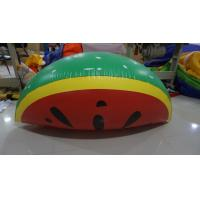 Personalised Fruit Shaped Balloons , 1.2m Long Inflatable Watermelon Slicer