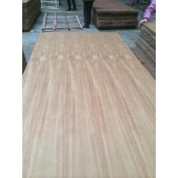 Buy cheap Natural teak  plywood in sizes 1220x2440mm and 2150x915mm in poplar core and hardwood core from wholesalers