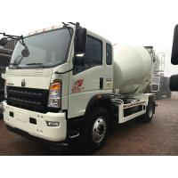 Best Sinotruk Howo7 Brand Cement Mixer Truck 4 M3 For Concrete Batching Plant wholesale