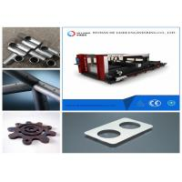 Quality Metal Tube Laser Cutting Machine , Copper And Aluminium Alloy Fabric Laser Cutter wholesale