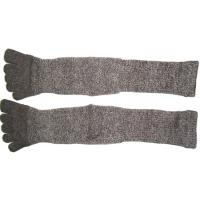 Best High Performance 24.5 cm 120 Needle Grey Cotton Five Finger Toe Terry Loop Socks For Winter wholesale