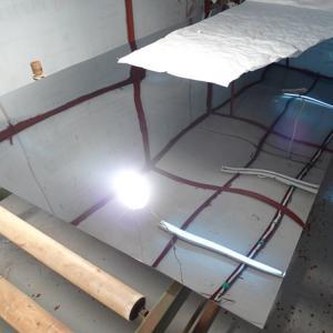 Best SUS304 8K Mirror Polish Finish Stainless Steel Sheet 4x8  4x10  600MM/ SS 304 Sheet 0.3MM - 3 MM wholesale