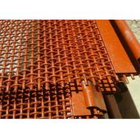 China 65Mn High Carbon Stone Crusher Self Cleaning Screen Mesh  For Quarry Equipment on sale
