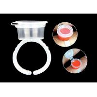 Best Plastic Disposable Tattoo Ink Ring Cups With Cap Individual Package wholesale
