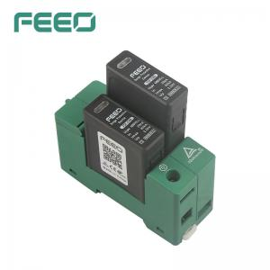 Best .FEEO Brand DC SPD 2P 600V Lighting Protection System With TUV Certificate wholesale