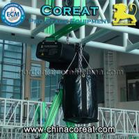 China 1 ton entertainment electric chain hoist 220V 380V 415V on sale