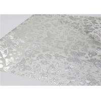 Best Silver Hot Stamping Patterned Tissue Paper With Wax Gift Wrapping Paper 50 X 70 Cm wholesale