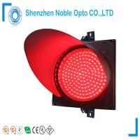 Best 300mm Clear Lens Red Traffic Light Model With PC Material Housing wholesale