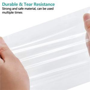 Best Clear Plastic Ziplock Reclosable Poly Bags 2mils Waterproof wholesale