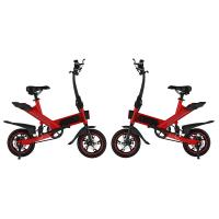 Best Fashionable Folding Road Bicycle , Adjustable Speed Small Electric Bicycle wholesale