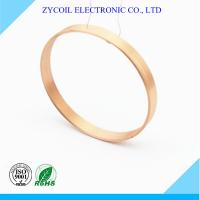 Cheap Round Shape Air Core Inductor Coil With Self Bonding Copper Wire To Winding for sale