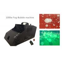 Best 1000 Watt Fog Bubble Machine With 6*3w LED / Timer / Remote Control wholesale