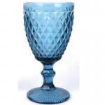 Best Factory direct European goblet color embossed wine glass hotel party creative goblet banquet goblet wholesale