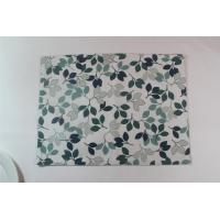 Best Small Green Leaves Fashion Dining Table Mats Modern  Placemats For Home / Restaurant wholesale