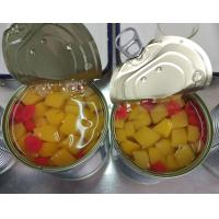 Best Canned fruit cocktail (peach, pear, pineapple, grape, cherry) in heavy syrup 30oz wholesale