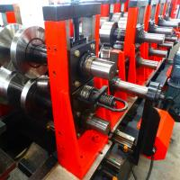 Quality Gear Box Driving Cold Roll Forming Machine With 8 - 12m / Min Adjustable High Speed wholesale