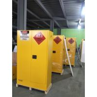 Best Lockable Chemical Storage Cabinets , Flammable Liquid Containers Double Vents wholesale