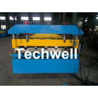 Best Iron Metal Roof Sheet Roll Forming Machine With Manual Or Hydraulic Uncoiler wholesale