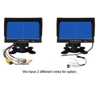 Cheap 7 inch in dash car monitor with camera & cable rear view car security system for sale