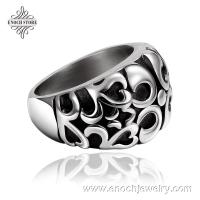 Best Size 7/8/9 Biker Jewelry Antique Stainless Steel Mexican Skull Ring wholesale