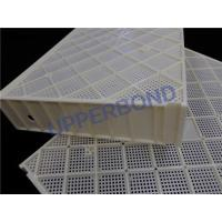 Best Cigarette Manufacturing Machine Yellow Plastic Trays Customize Size wholesale