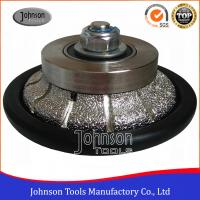 Best Johnson Tools No.6 Granite Hand Profile Wheel , Vacuum Brazed Diamond Profile Wheel wholesale