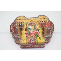 Irregular Symmetric Candy Tin containers Packaging For Religion Gift