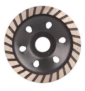 China 4 Inch Diamond Diamond Cup Grinding Wheel / Turbo Diamond Blade on sale