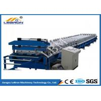 China PLC control automatic new floor deck roll forming machine 2018 new type roof tile machine on sale