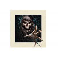 Cheap 5D Effect PET 3D Lenticular Pictures Skull Image For Indoor Decoration for sale
