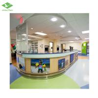 China Non slip antibacterial homogeneous vinyl sheet flooring for nursery newest flooryl vinyl flooring rolls on sale