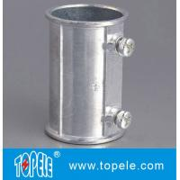 China EMT Set Screw Coupling, Zinc / Aluminum , Electrical Conduit Fittings Zinc Coupling on sale