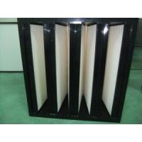 Buy cheap V-Bank/V-Style HEPA Filter (plastic cell side from wholesalers