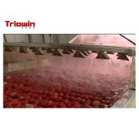 China Tomato Ketchup Manufacturing Plant / Tomato Sauce Making Plant Filling Type Available on sale
